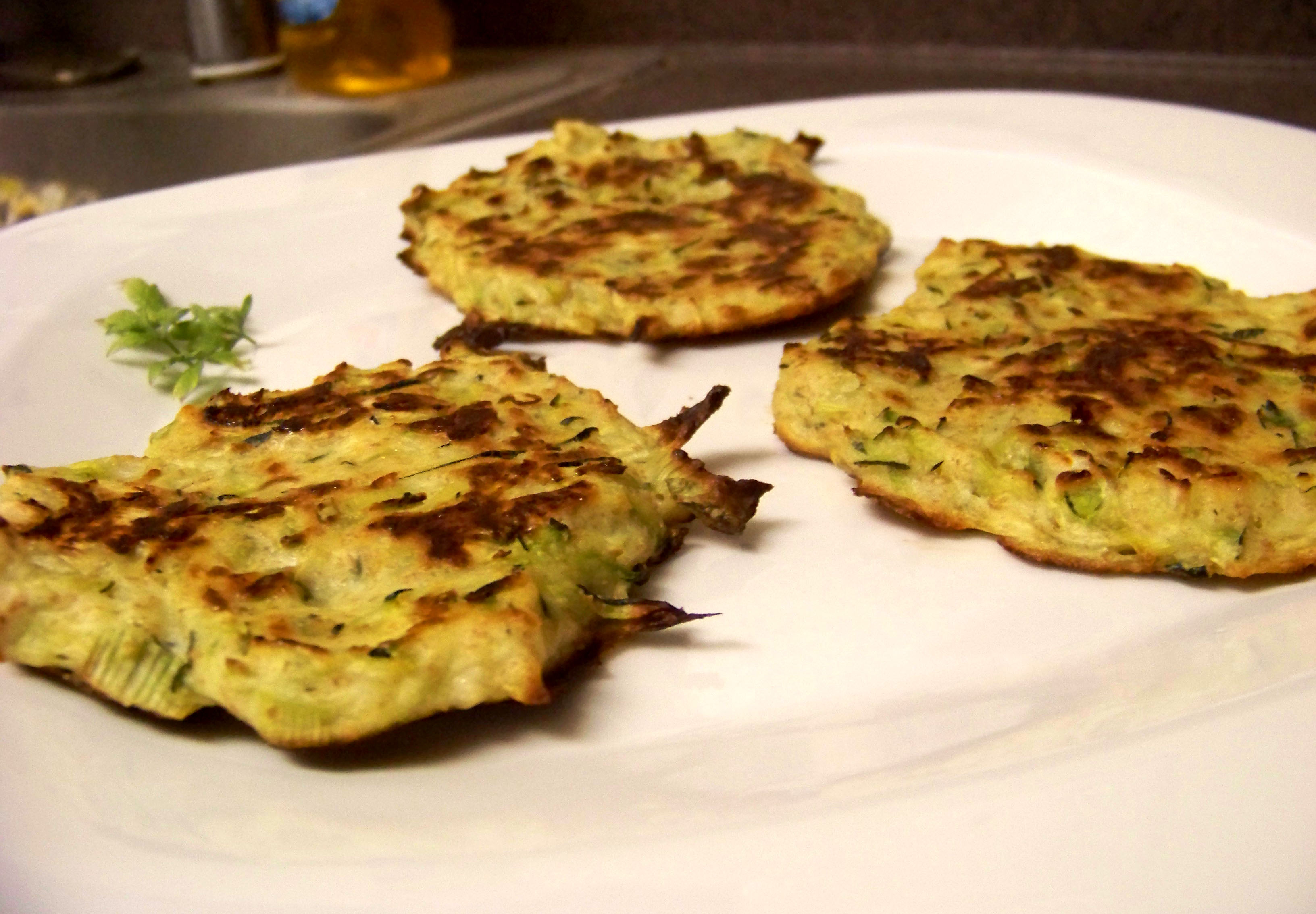Baked Zucchini Fritters – Healthy For Two