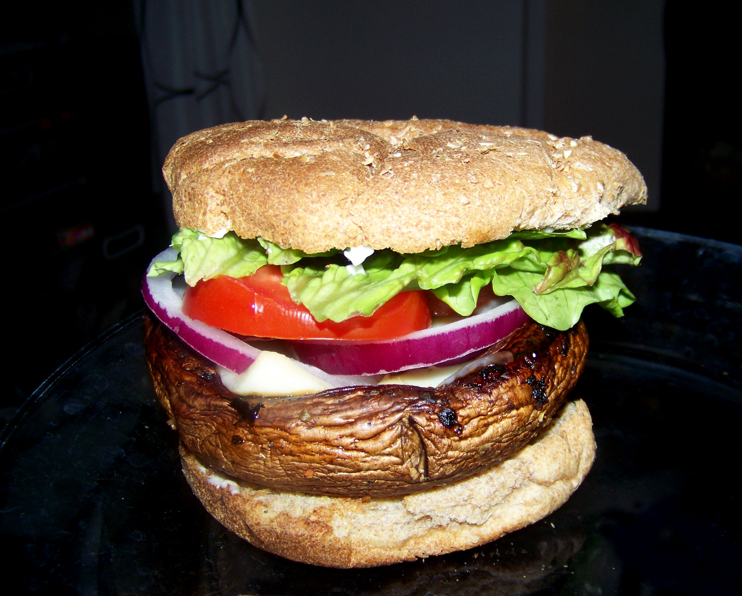 Portobello Mushroom Burger – Healthy For Two