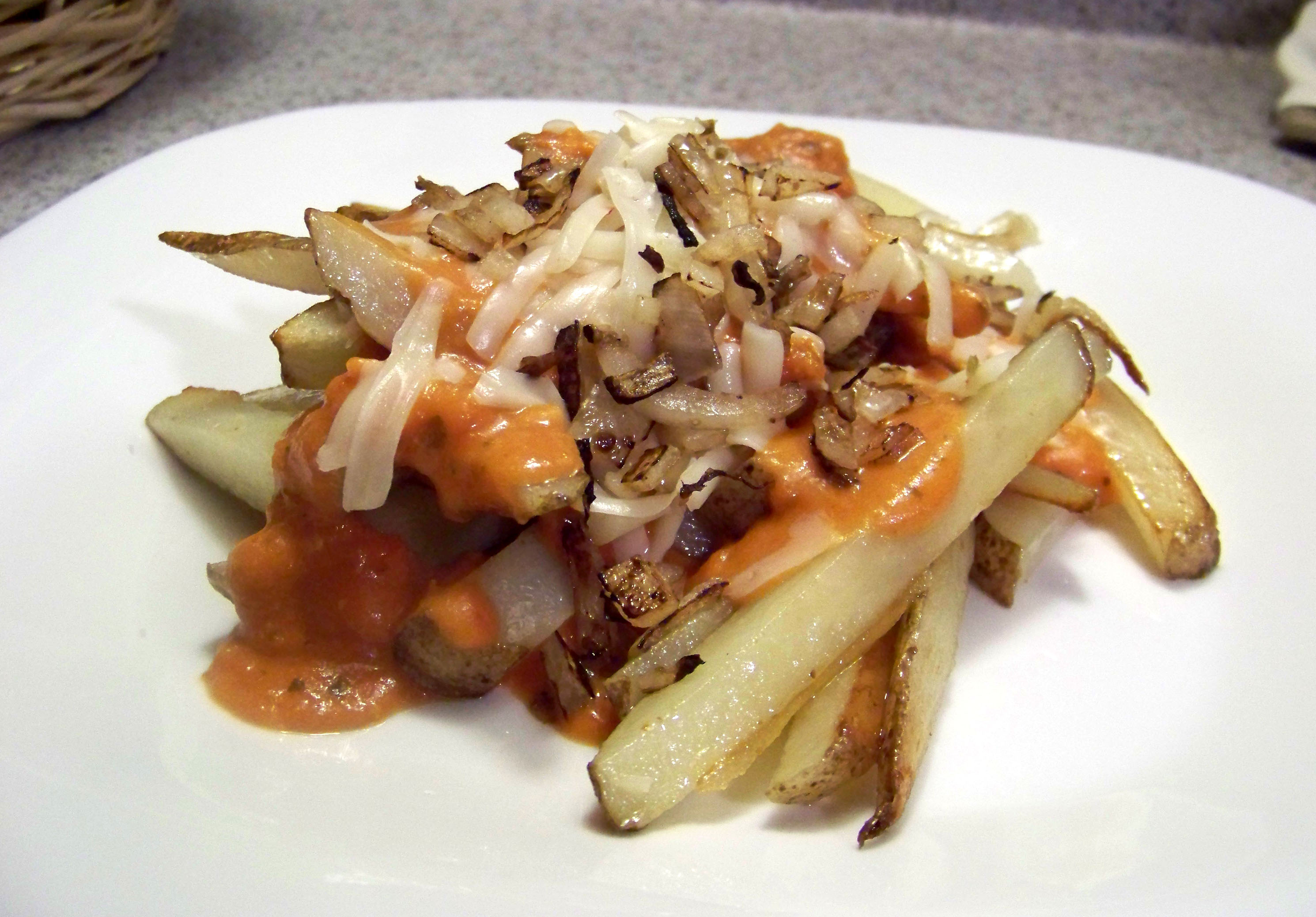 "Italian ""Animal-Style"" Fries – Healthy For Two"