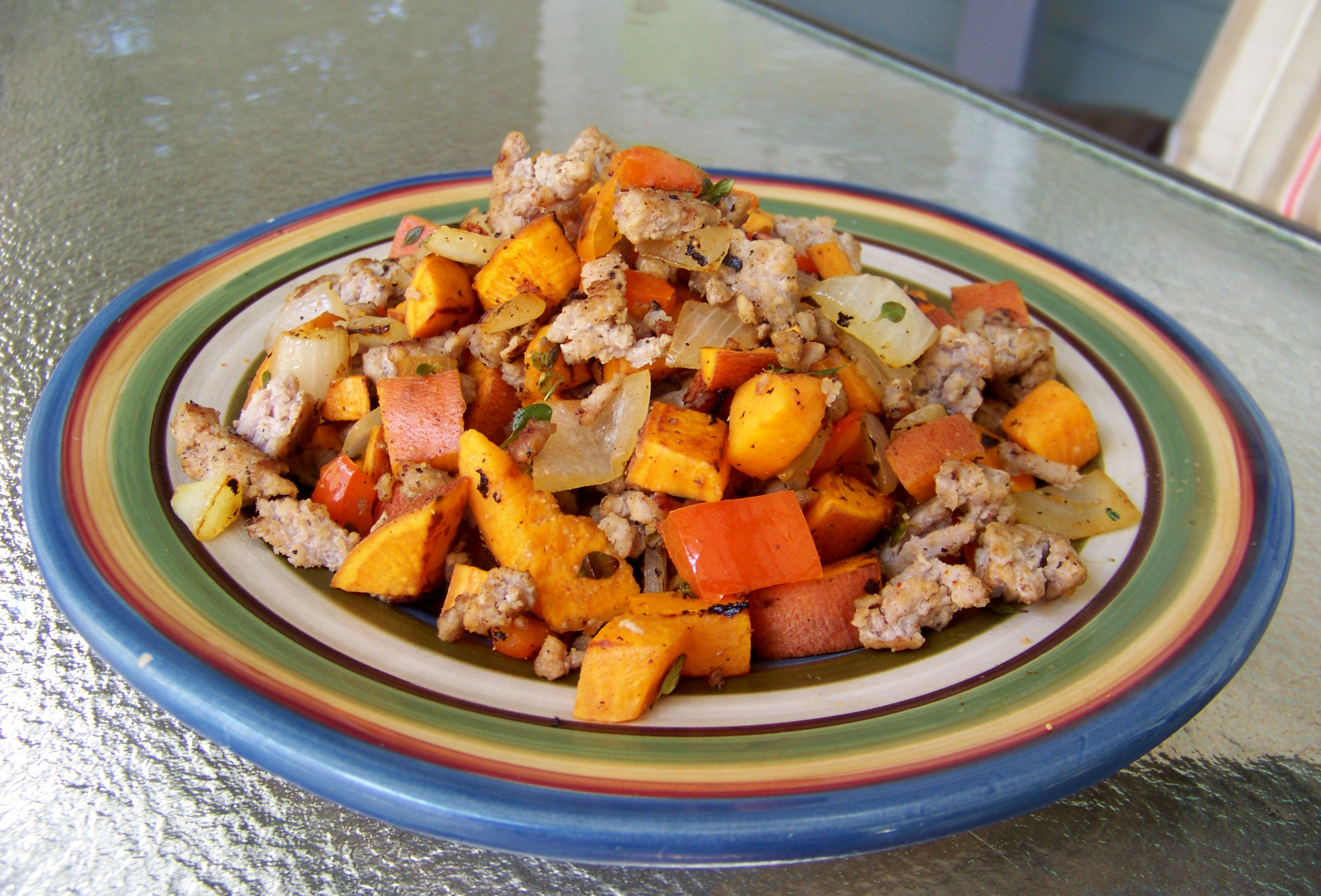Sweet Potato and Turkey Hash – Healthy For Two
